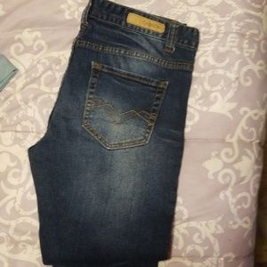Ladies Carbon skinny legged jeans